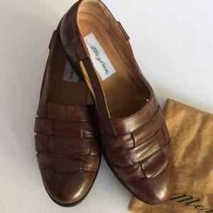 Men's Mezlan Cayman Slip On Loafers in Cognac